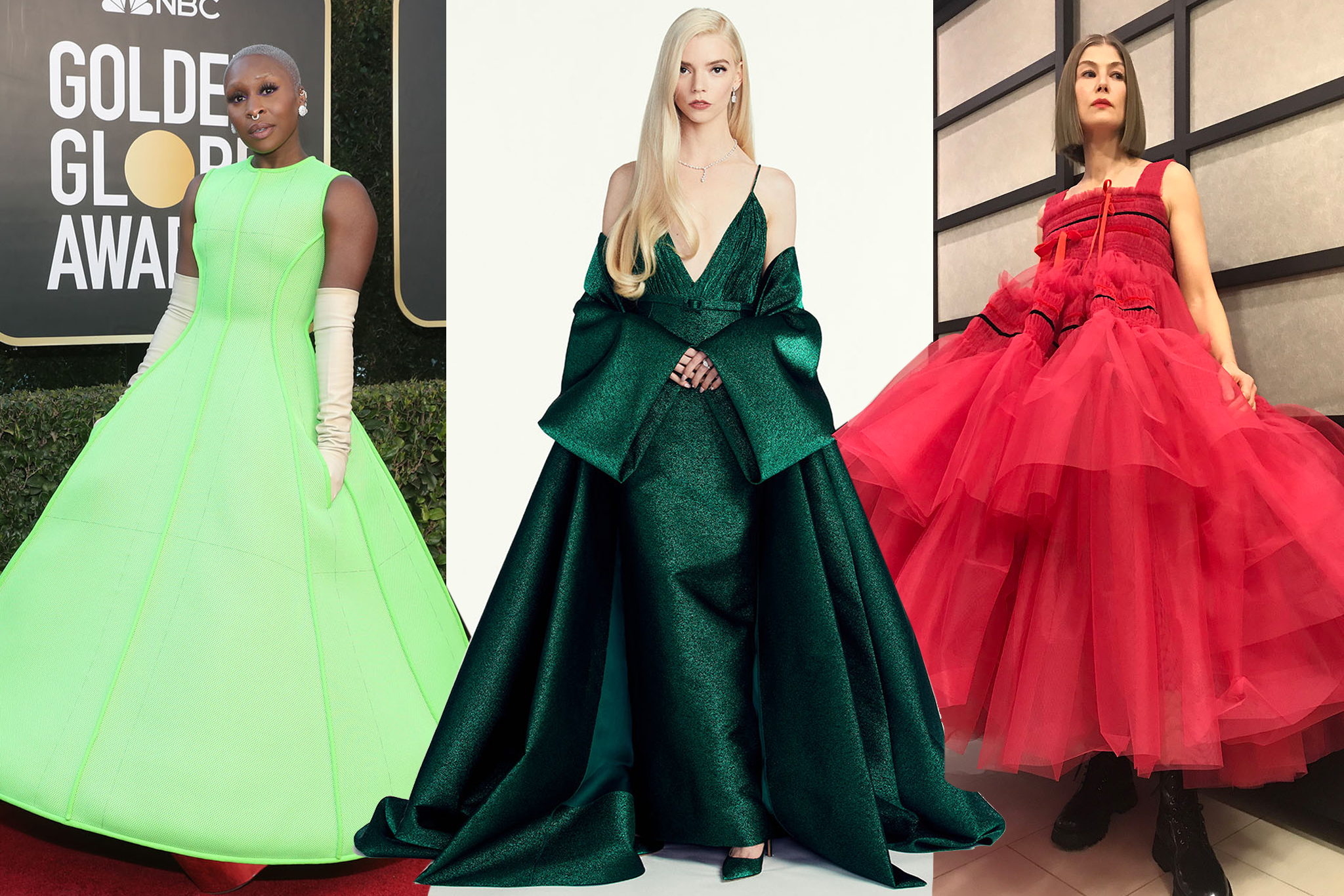 Golden Globes Best Dressed 2021
