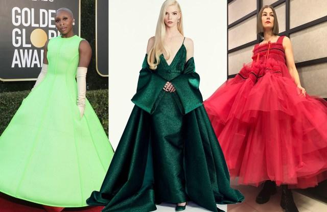 Golden Globes Best Dressed 2021