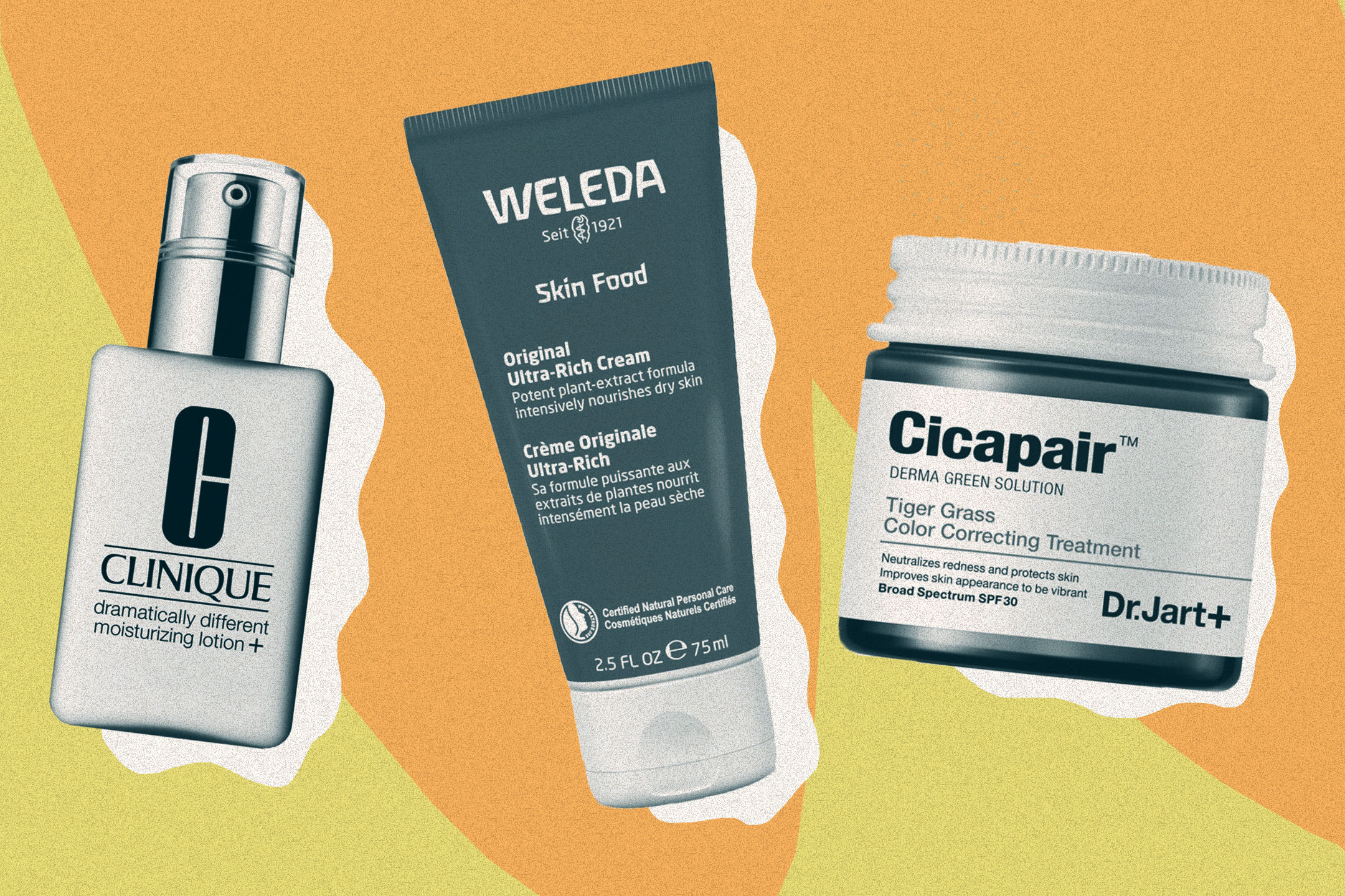 Clinique, Weleda and Dr. Jart+ are among the top-rated moisturizers.