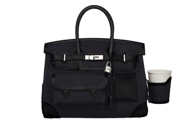 The Hermès Birkin 35 cargo bag is popular with celebrities like Cardi B.
