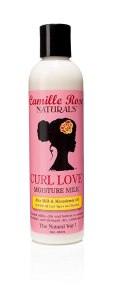 camille rose, best low porosity hair products