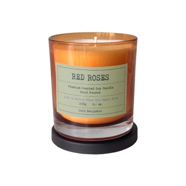 coco benjamin, best rose scented candles