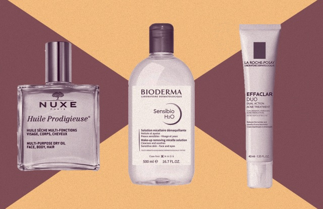 Nuxe, Bioderma and La-Roche Posay are among the best French pharmacy beauty products.