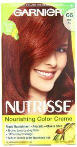 garnier, best red hair dyes