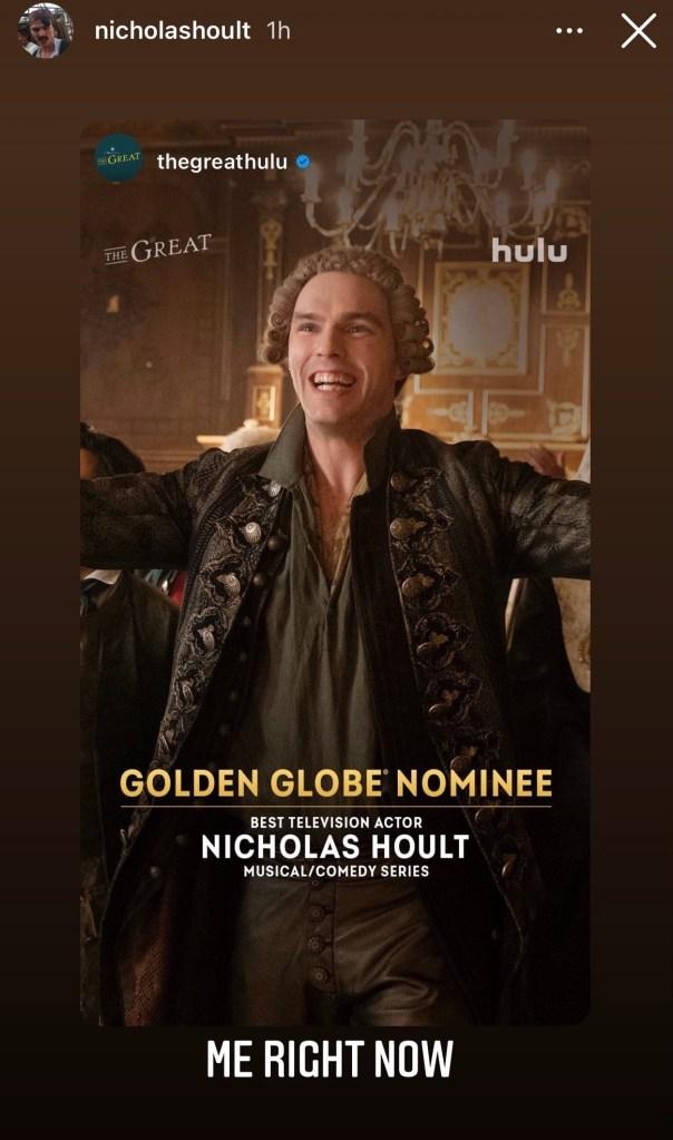 Golden Globes 2021 Nominations: Celebrity Reactions