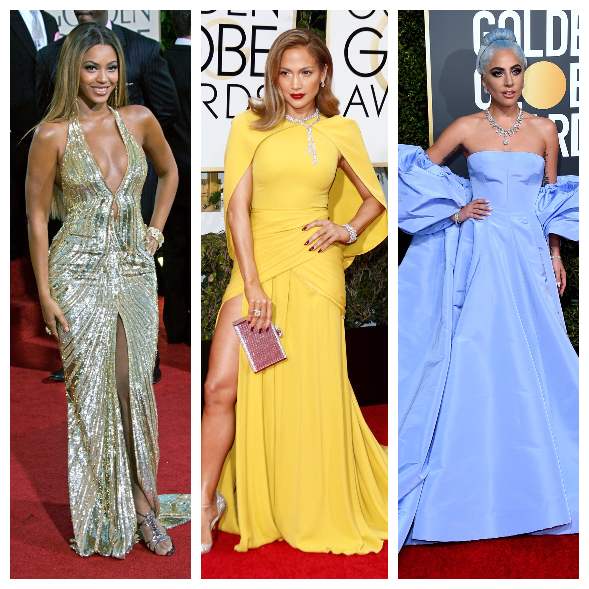Golden Globes Fashion: Best Red Carpet Looks