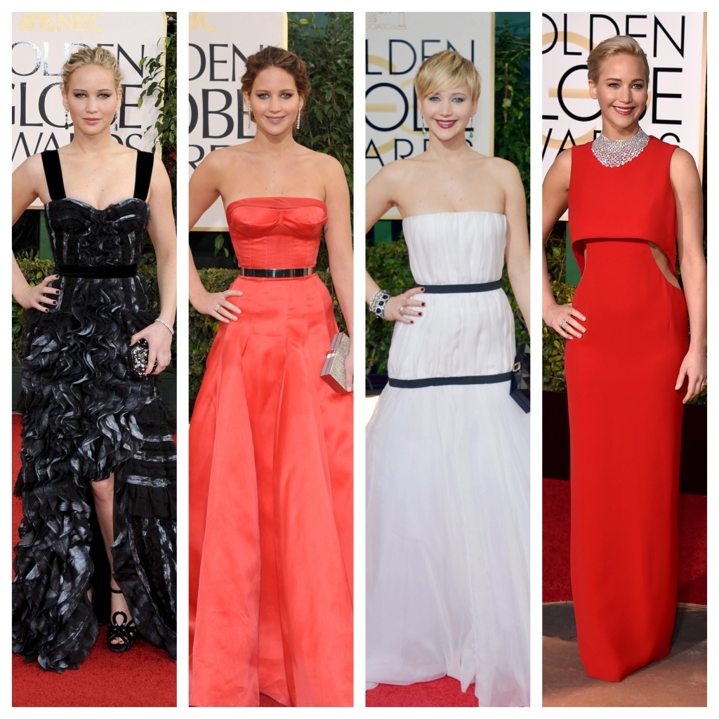 Top Searched Golden Globes Red Carpet Style Stars: Jennifer Lopez, Jennifer Lawrence
