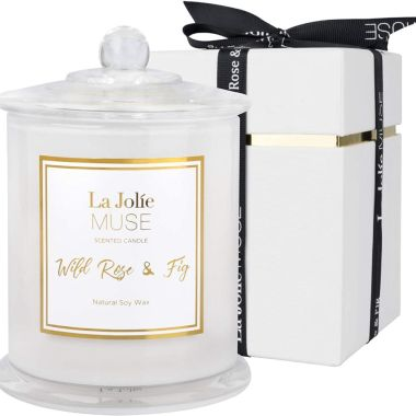 la jolie muse, best rose scented candles