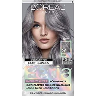 loreal paris, best gray hair dyes