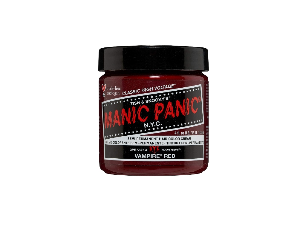 manic panic, best red hair dyes