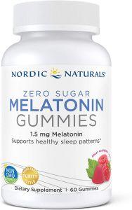 nordic naturals, best melatonin gummies