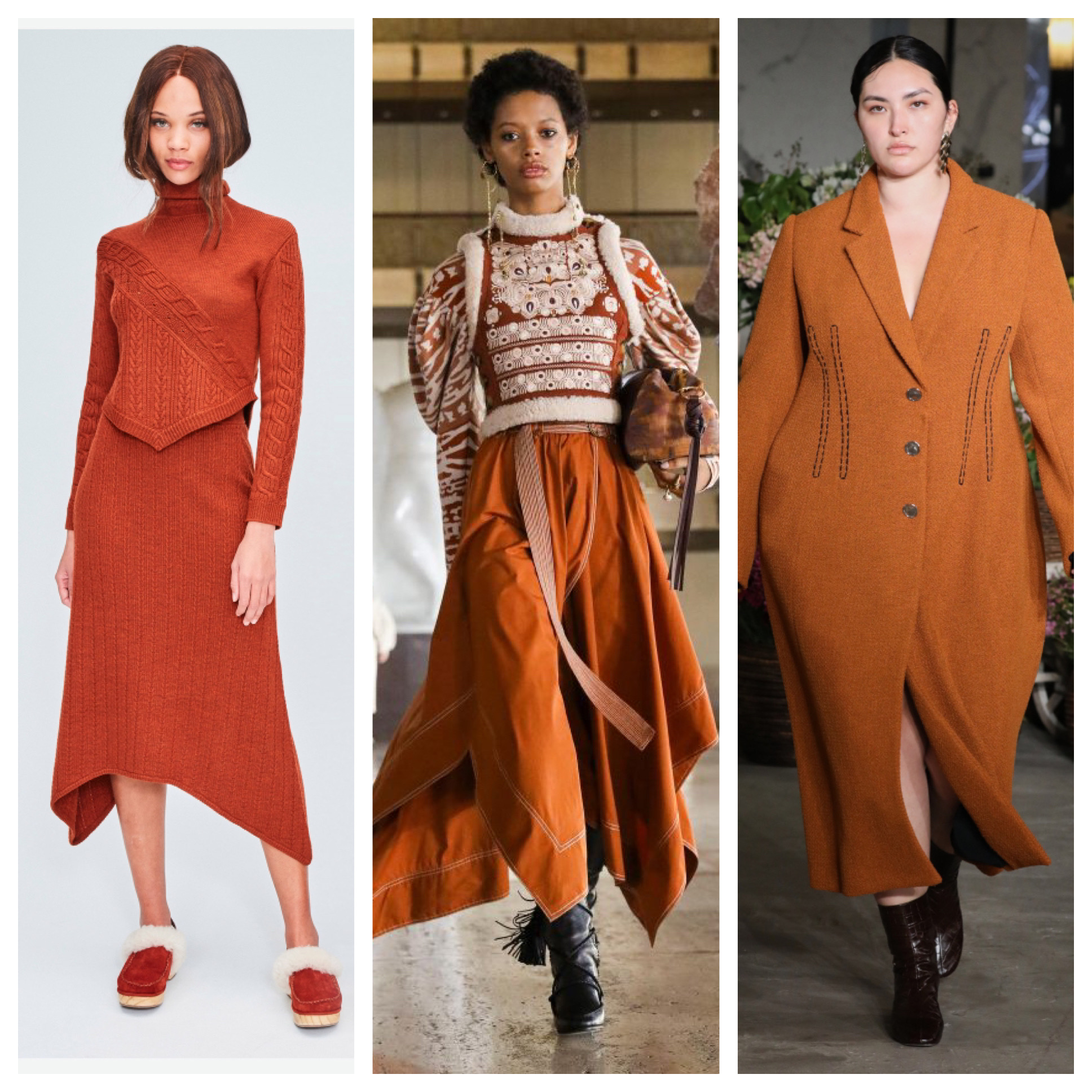 NYFW Fall 2021 Trends: Pantone Colors on the Runway