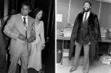 Muhammad Ali and Veronica Porche, 1978 and Walt Frazier of the New York Knicks.