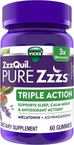 vicks zzzquil, best melatonin gummies