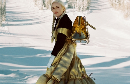 Lindsey Vonn for Thom Browne