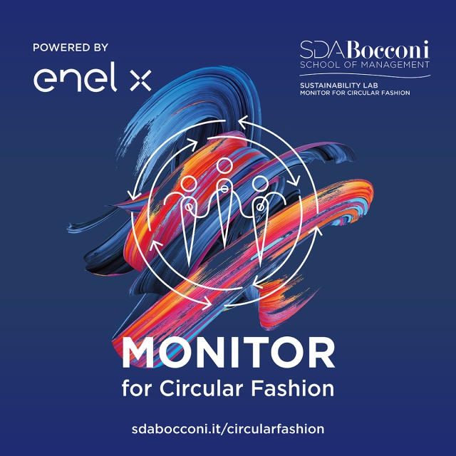 """The """"Monitor for Circular Fashion"""" by SDA Bocconi and Enel X."""