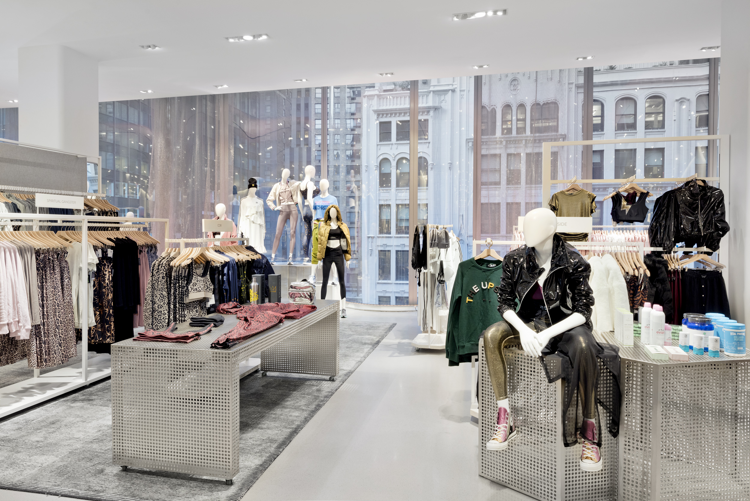 The active area at Nordstrom's Manhattan flagship.