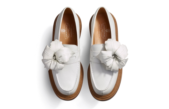 J.M. Weston couture loafers