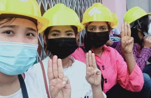 FGWM, Myanmar, moda, sostenibilidad, solidaridad, prodemocracia,
