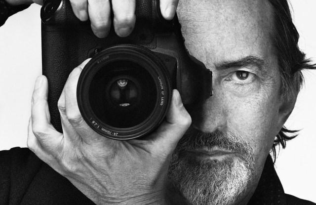 Italian photographer Giovanni Gastel, lensed by his longtime assistant Giovanni Battista Righetti.