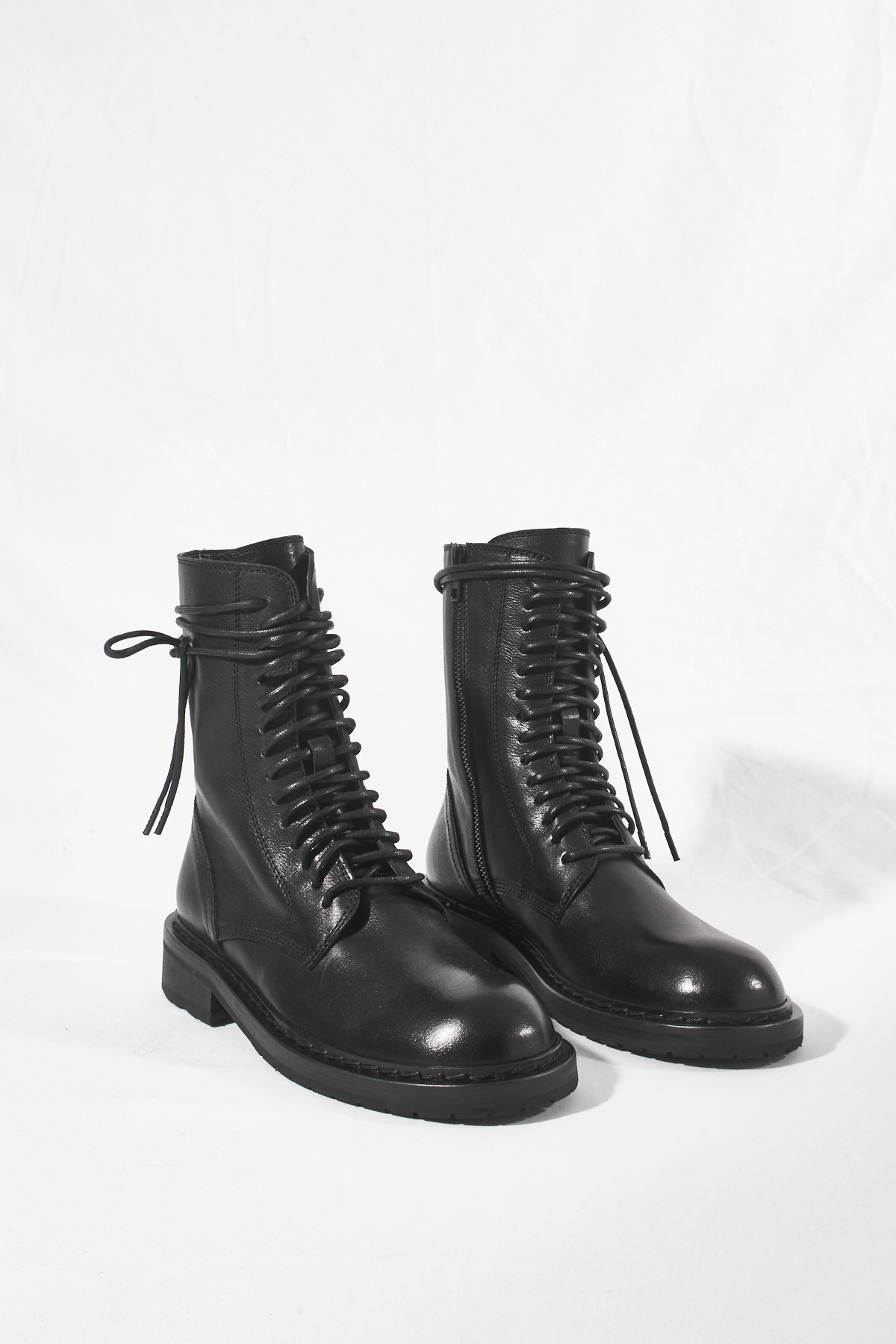 Ann Demeulemeester shoes are a top-10 seller at Antonioli stores.