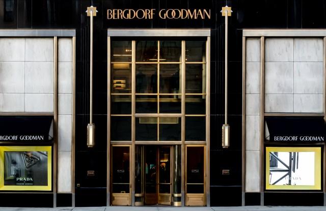 Bergdorf Goodman has dedicated all its windows to Prada's spring/summer collection.