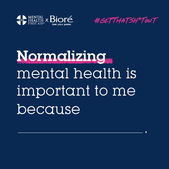 Bioré Mental Health Initiative
