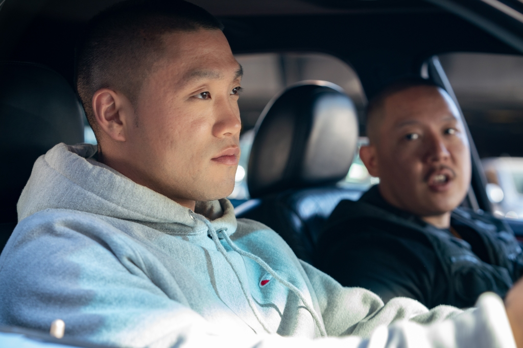 4153_D007_00060_RTaylor Takahashi stars as Alfred 'Boogie' Chin and writer/director Eddie Huang as Jackie in BOOGIE, a Focus Features release. Credit: Nicole Rivelli / Focus Features