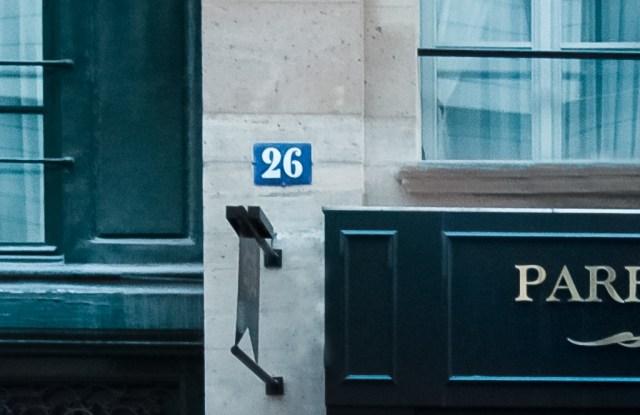The Parfums de Marly boutique in Paris.