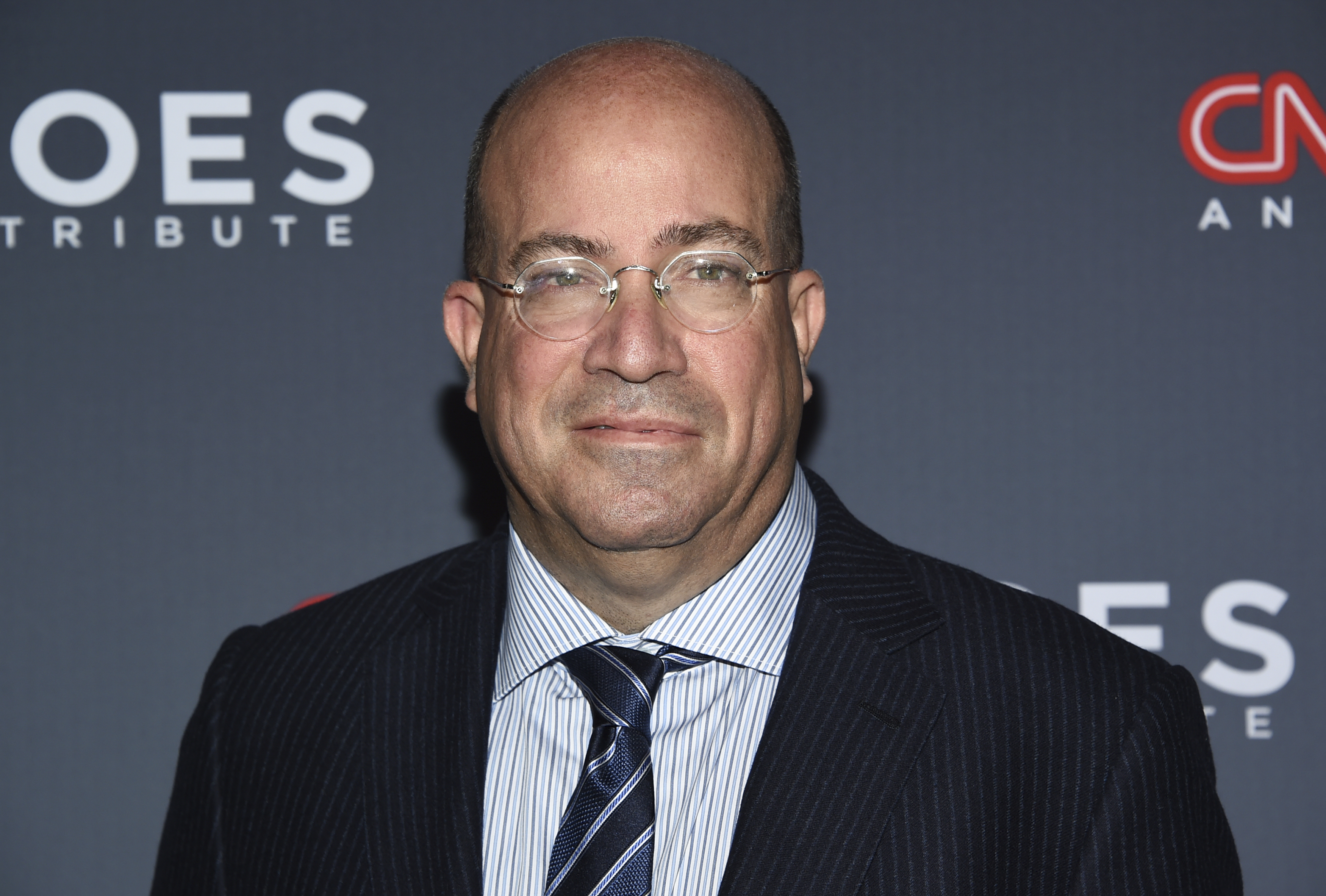 FILE - In this Dec. 17, 2017 file photo, CNN president Jeff Zucker attends the 11th annual CNN Heroes: An All-Star Tribute in New York. Zucker says that rival Fox News Channel is a propaganda machine that is doing an incredible disservice to the country. Zucker spoke Thursday at the Financial Times Future of News conference.  (Photo by Evan Agostini/Invision/AP, File)