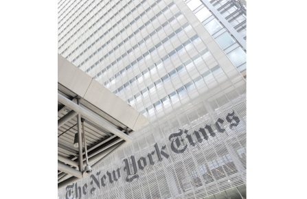 Headquarters of The New York Times