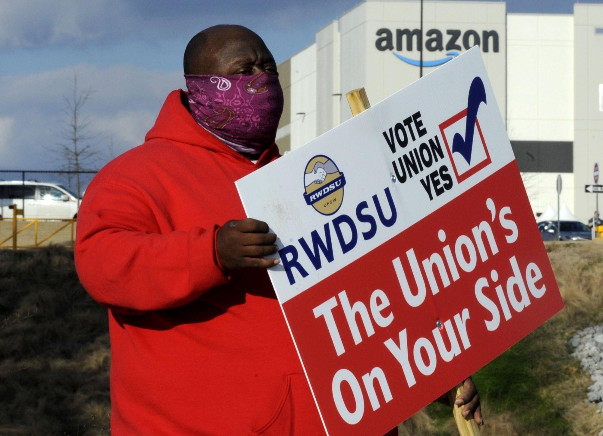 Alabama, Amazon, labor, workers, BLM