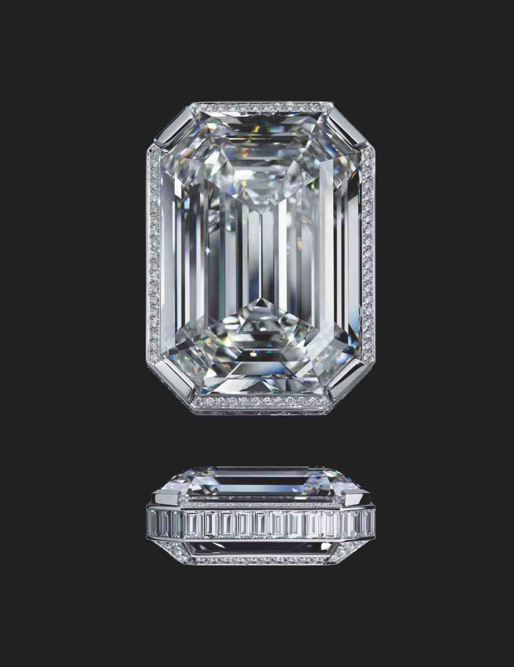 Chanel's 55.55 carat diamond