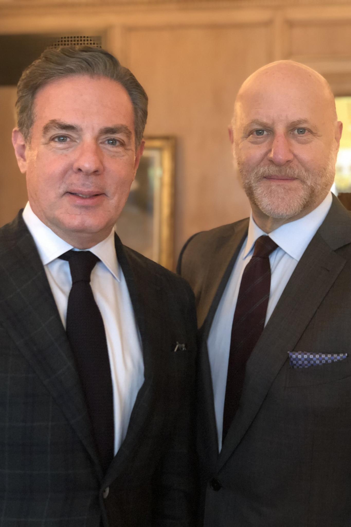 Beekman New York's Christian Keesee and Keith Rosen.