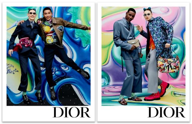 The Dior Men Pre-Fall Campaign.