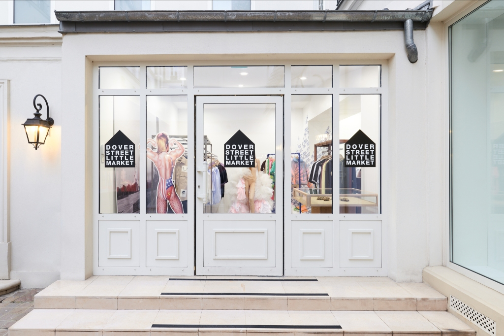 Dover Street Little Market inParisfeatures young fashion labels.