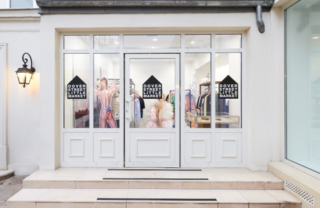 Dover Street Little Market in Paris features young fashion labels.