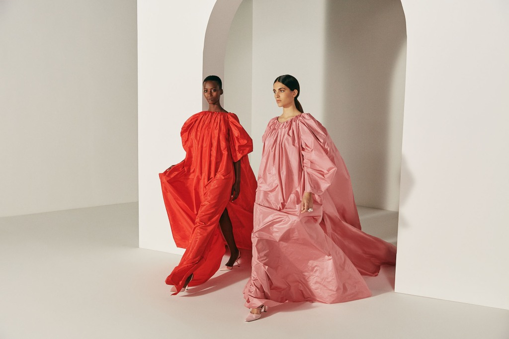 An exclusive look from Oscar de la Renta for the Farfetch Ramadan collection.