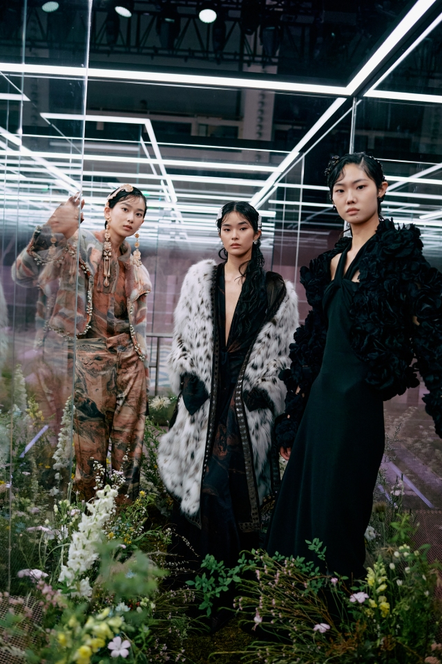 Fendi Couture Spring 2021 in Shanghai