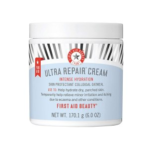 First Aid Beauty Ultra Repair Cream Intense Hydration, best Fragrance Free Moisturizers