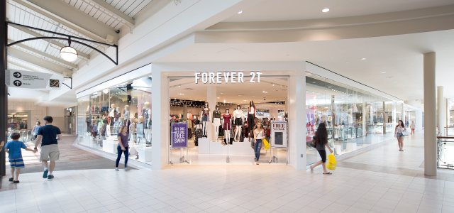 A Forever 21 store.