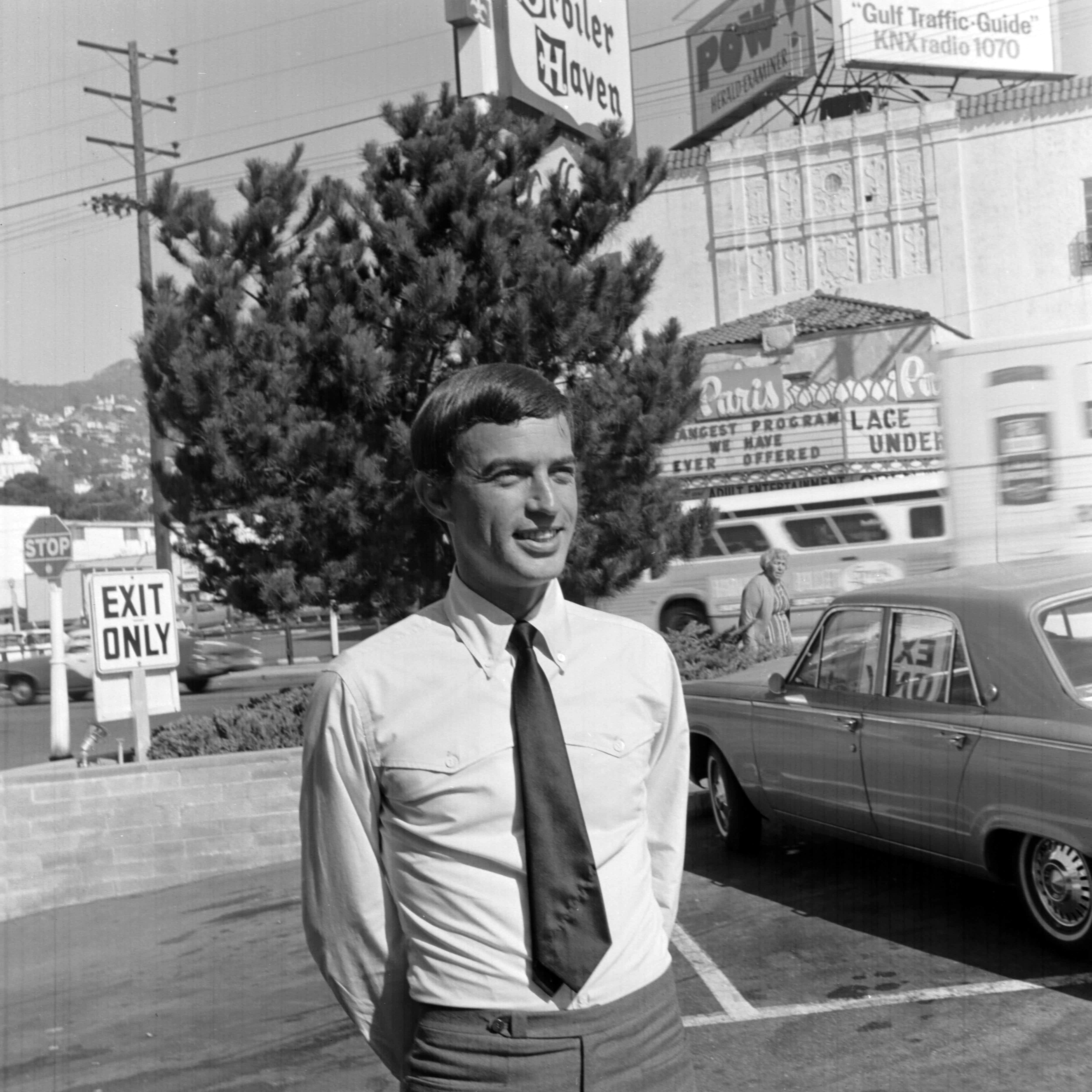 Retailer Fred Segal poses for portraits in Los Angeles,1966.