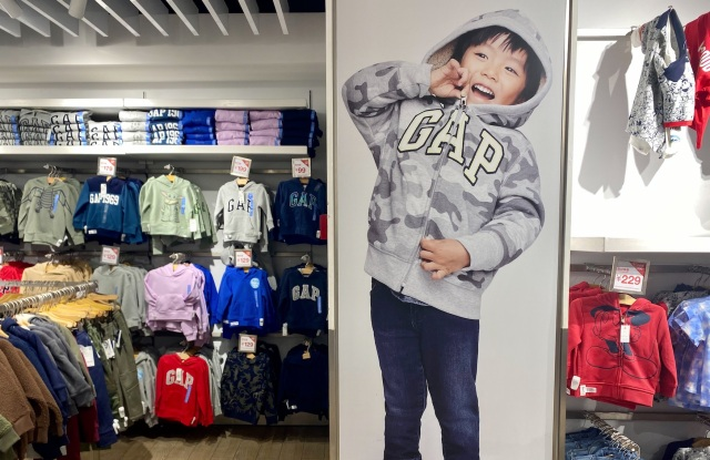 A Gap store in China.
