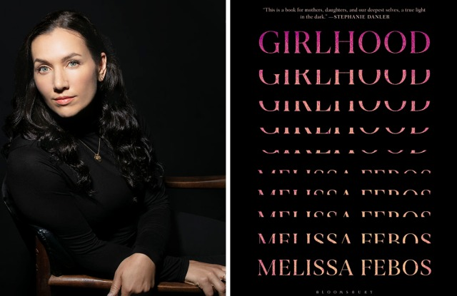 """Author Melissa Febos; """"Girlhood"""" book cover."""