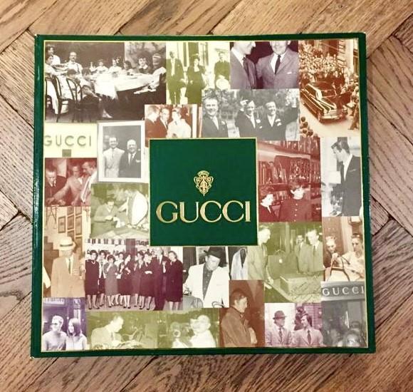 A Gucci book.