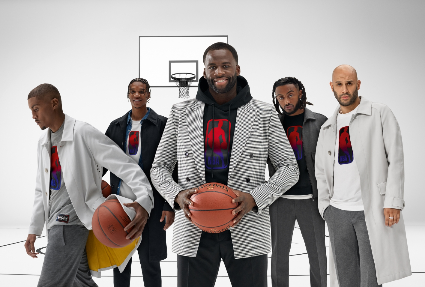 Hugo Boss has been pushing into more casual clothing, including with partnerships with the NBA.
