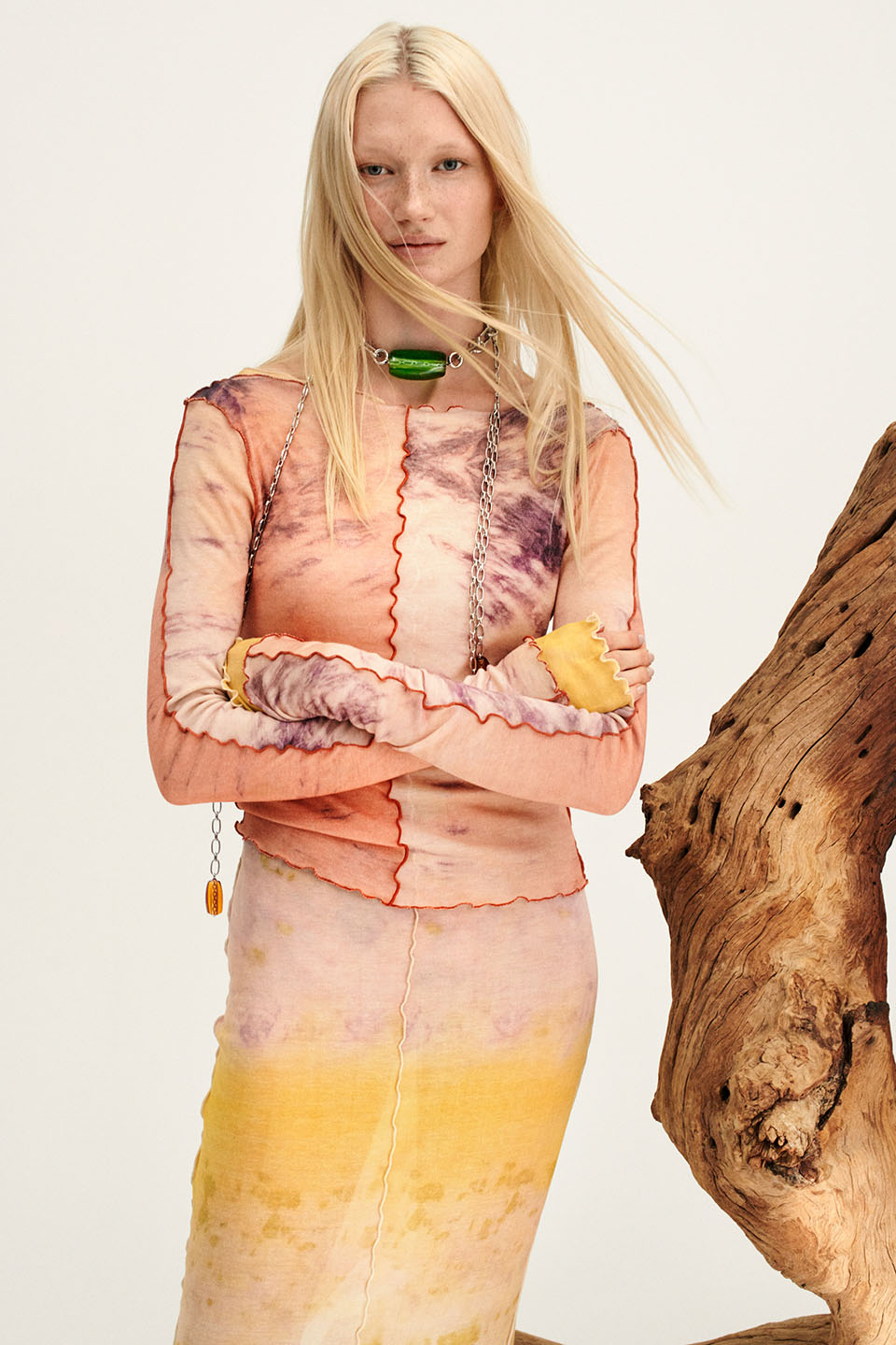 A look from H&M's upcoming Color Story collection.