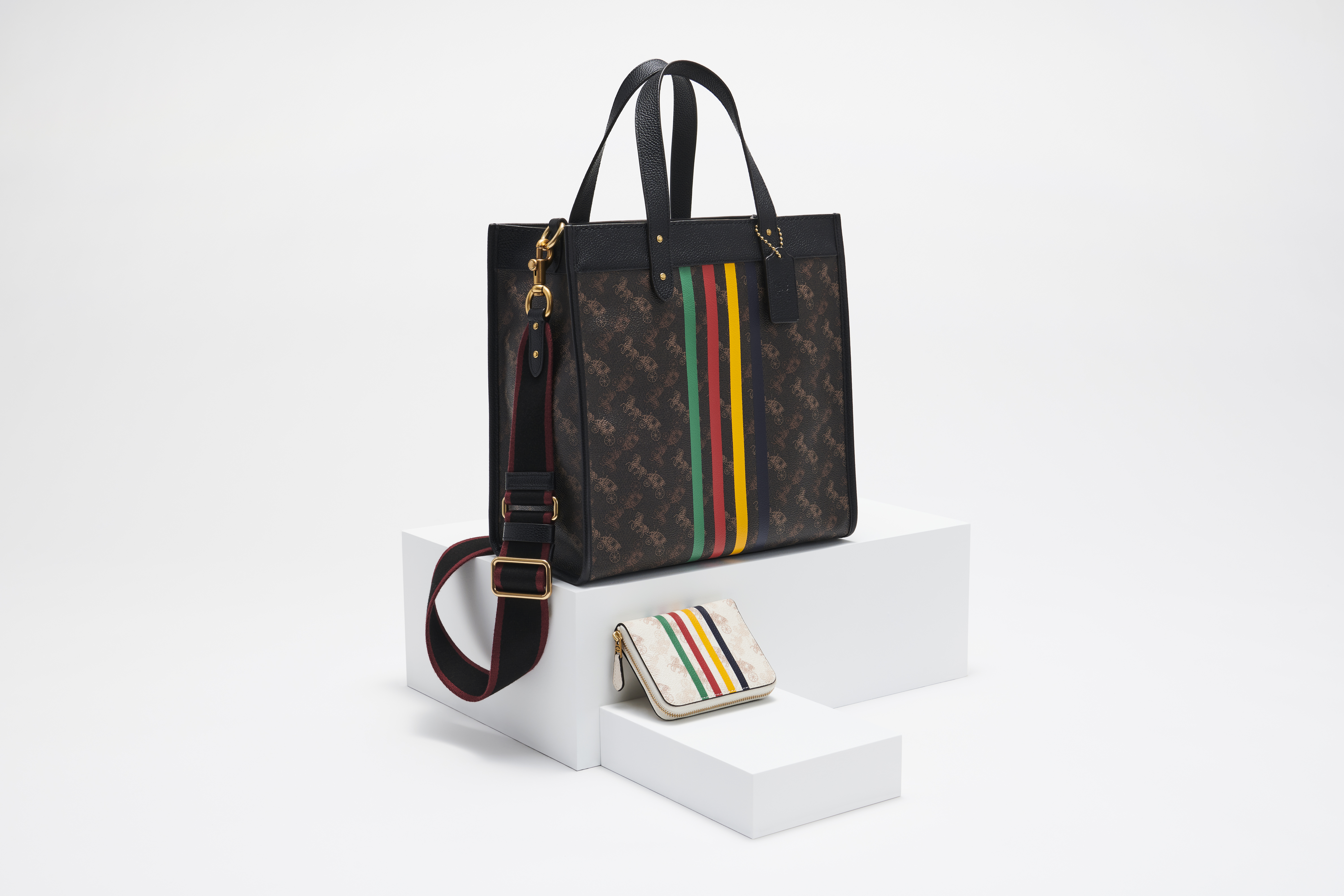 The Hudson's Bay/Coach accessories.