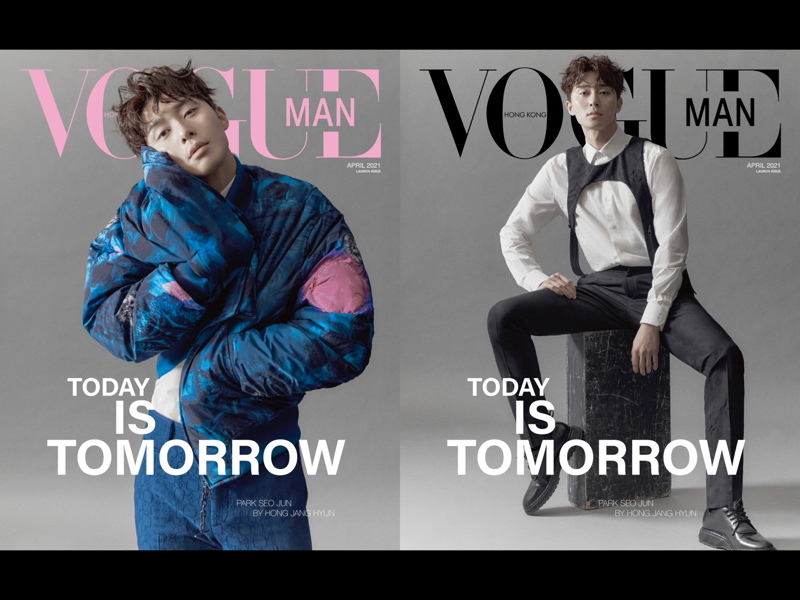 Launch Issue of Vogue Hong Kong Man