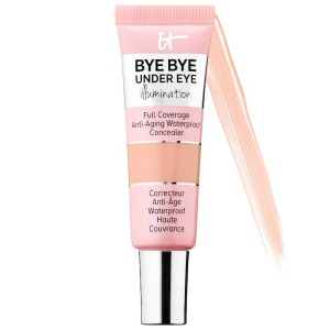 IT Cosmetics Bye Bye Under Eye Illumination Full Coverage Anti-Aging, best concealers for dry skinWaterproof Concealer